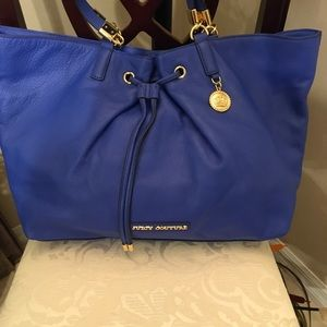 Juicy couture all blue leather Shoulder bag